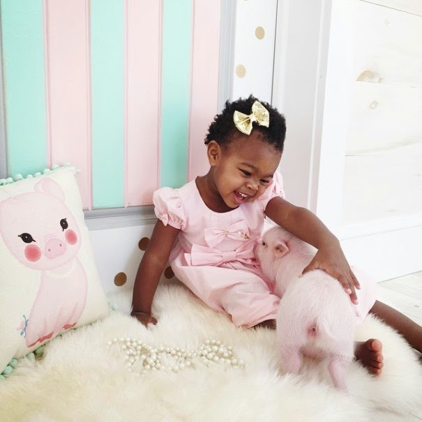 Through the businesses she runs, Lindsey hopes to raise funds for other adopting families as well - The Heartmelting Friendship Of A 2-Year-Old Girl And Her Piglet