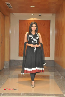 Anjali Latest Picture Gallery in Black Salwar Kameez at Balupu Movie Logo Launch ~ Celebs Next