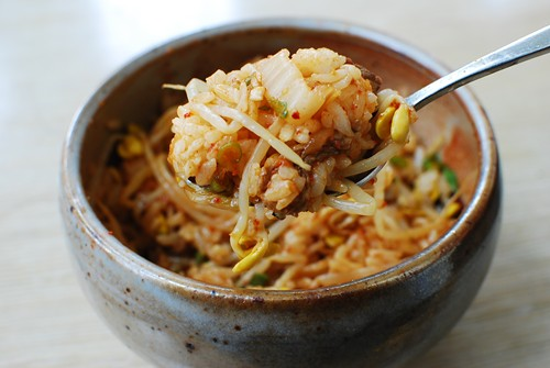 Kongnamul Bap (Soybean Sprout Rice Bowl)