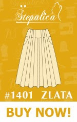 Stepalica: Zlata skirt pattern