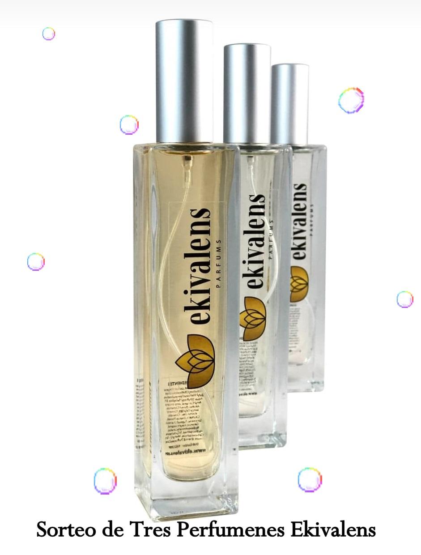 sorteo tres perfumes de ekivalens