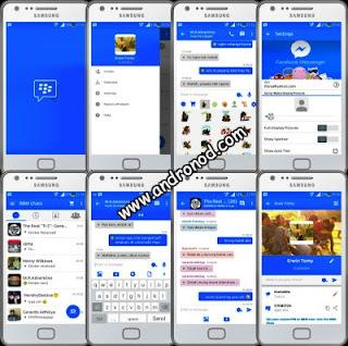 BBM Mod Tema Facebook Messenger v2.9.0.51 Apk
