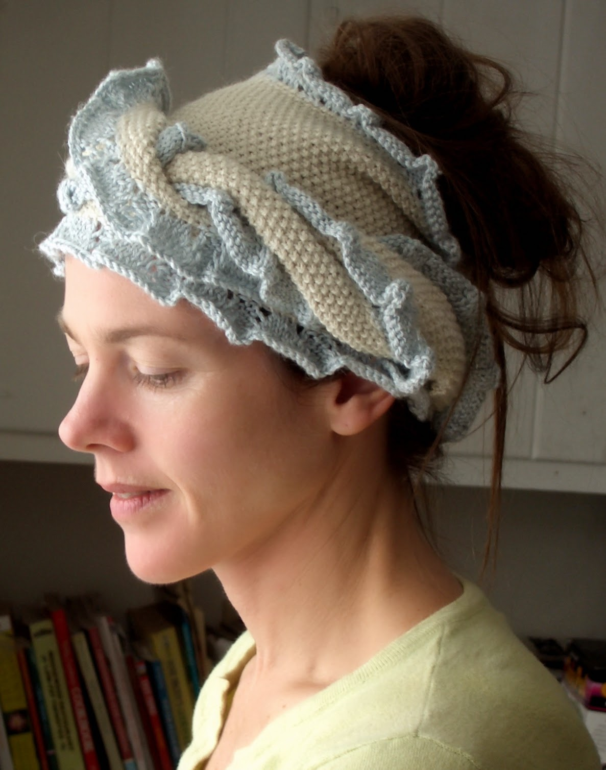 Silk Alpaca Head Wrap
