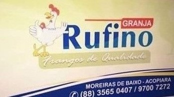 Granja Rufino no Bairro Moreiras em Acopiara, frangos de Qualidade e um ótimo atendimento