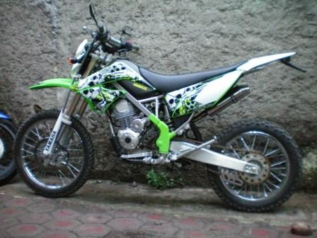 Kawasaki KLX 150 up grade