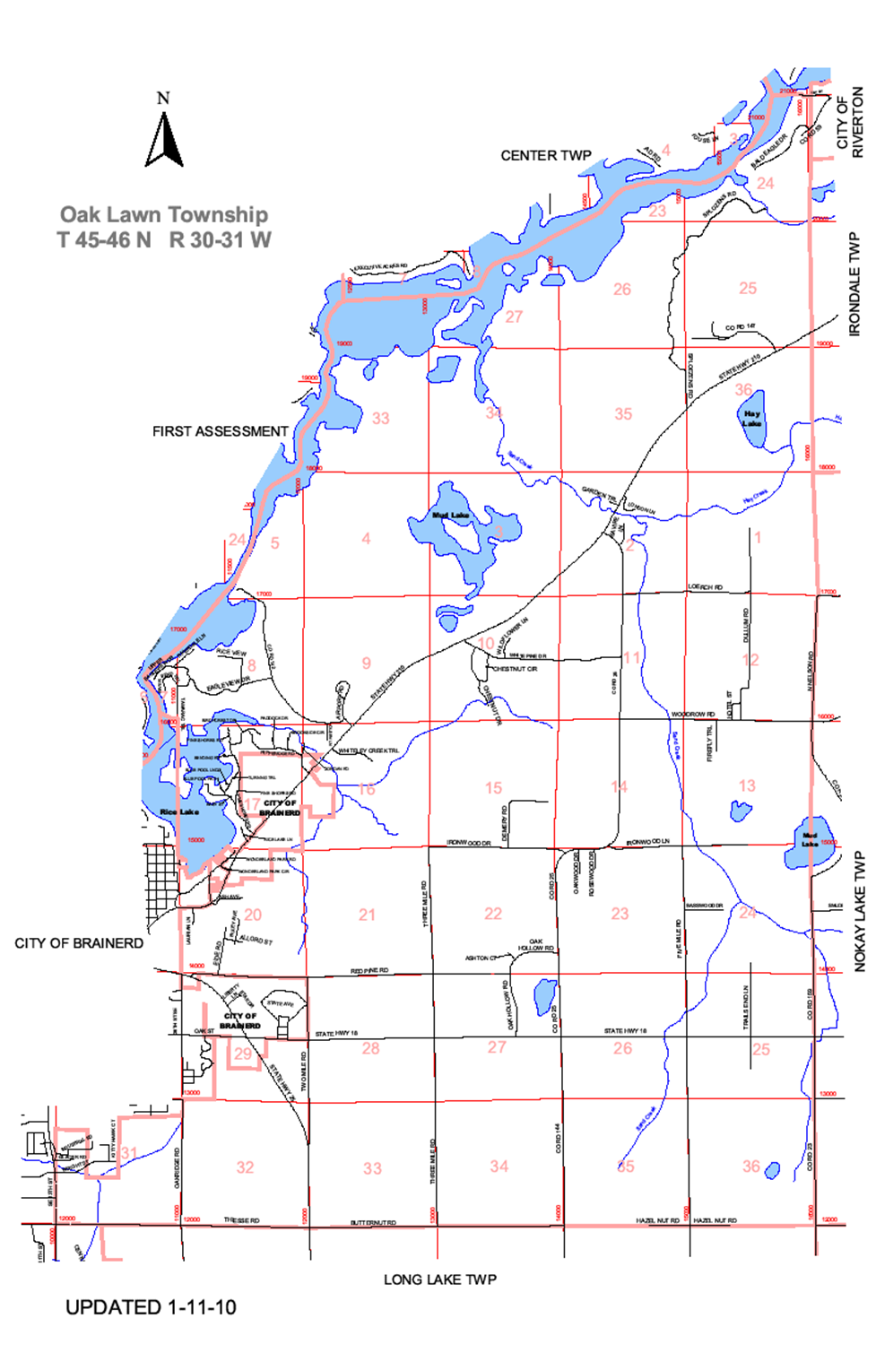 Welcome to the Oak Lawn Township Web Site Oak Lawn Township Map