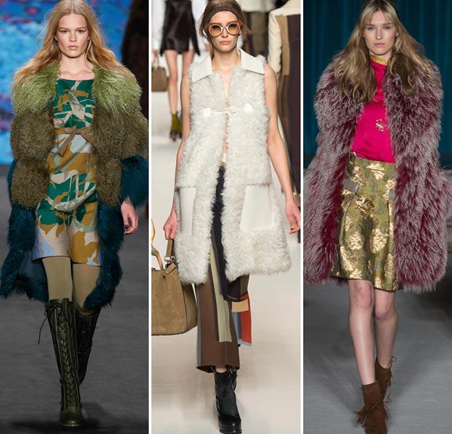 Модные тенденции шуба