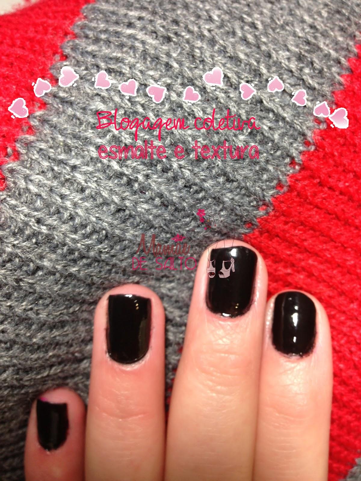 blogagem coletiva esmalte e textura cachecol de tricô zara blog Mamãe de Salto ==> todos os direitos reservados