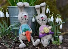 Hæklede kaniner