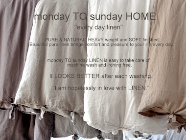 LINEN/monday TO sunday HOME