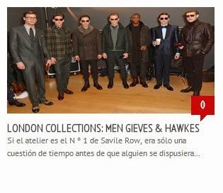 London Collections, Hackett London, Jeremy Hackett, Hardy Amies, John Lobb, Thomas Pink, Burberry, Burberry Prorsum, Chester Barrie, Duchamp, Gieves