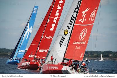 La Volvo Ocean Race 2015 à Lorient en juin.