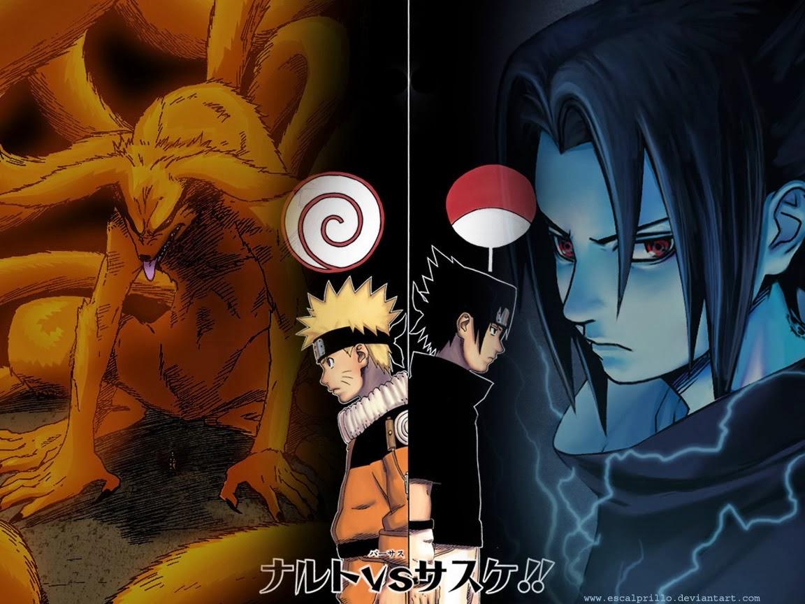 15 koleksi gambar wallpaper naruto vs sasuke hd koleksi - Naruto as sasuke ...