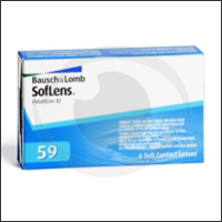 optikku softlens lensa kontak bening clear monthly disposable bulanan soflens 59 bausch lomb