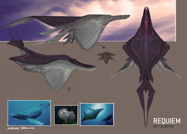 space whale sky leviathan halo
