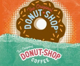 Donut Shop coffee logo