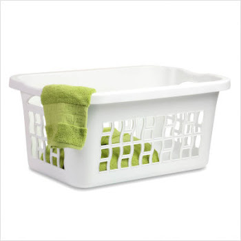 the empty nest laundry basket