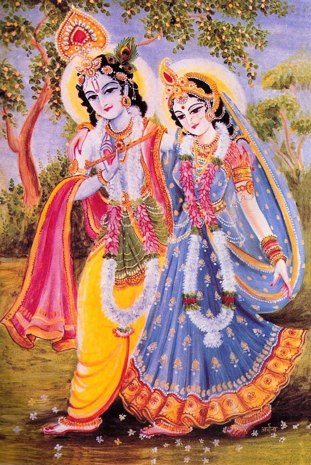 Lord Krishna with Kalindi image