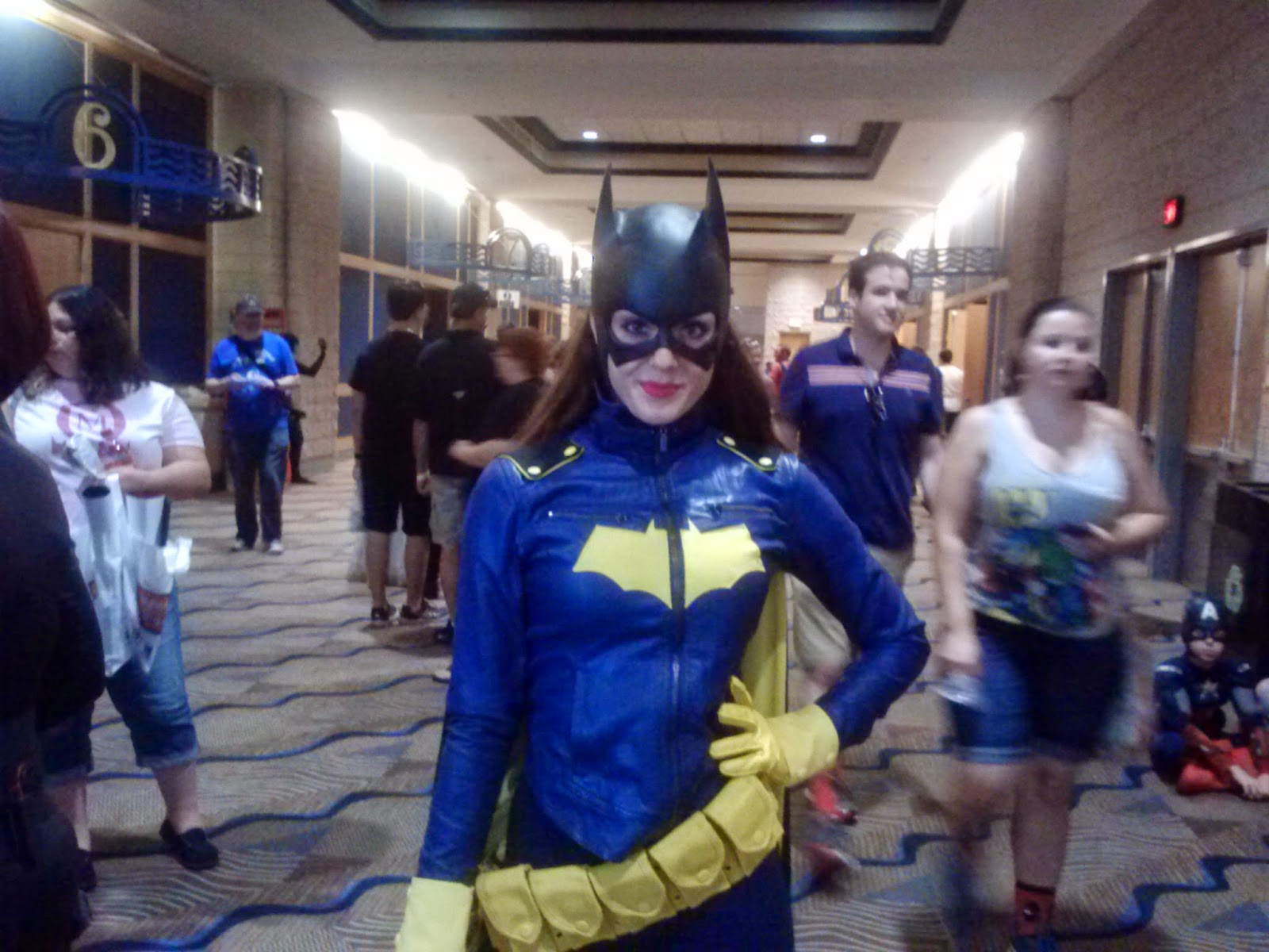 Alyson Larkin as Batgirl