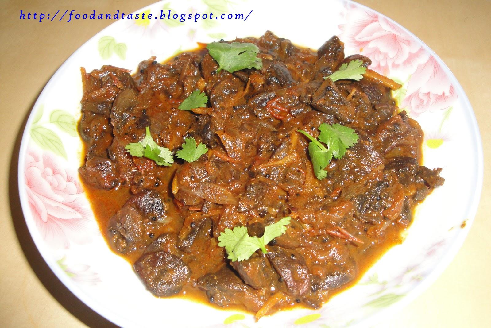 Food and taste baby bella mushroom curry indian recipe baby bella mushroom curry indian recipe forumfinder Gallery