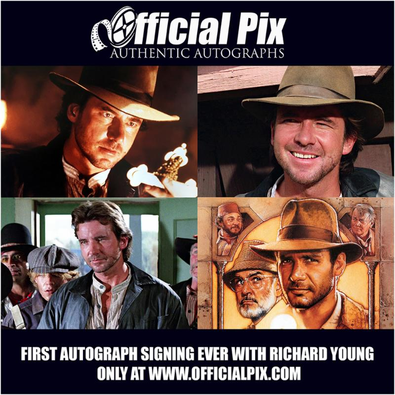 Official Pix signing with Richard Young of Indiana Jones and the Last Crusade! Deadline is April 23