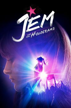Jem y Los Hologramas (2015) DVDRip Latino