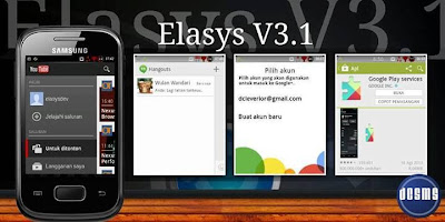screenshot elasys rom v3.1