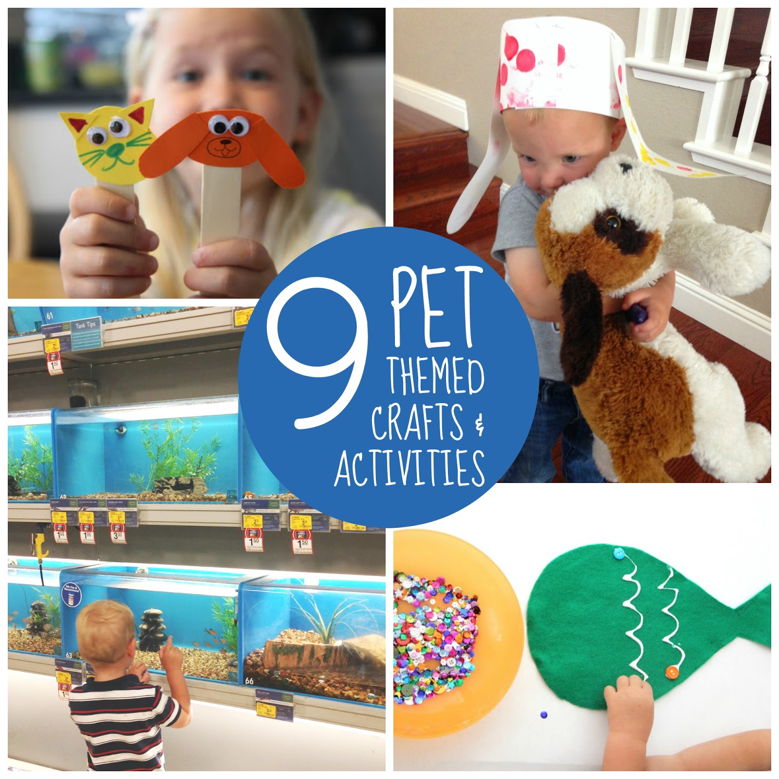 Activities Crafts Games: Toddler Approved!: Pet Week {Week Of Playful Learning ...