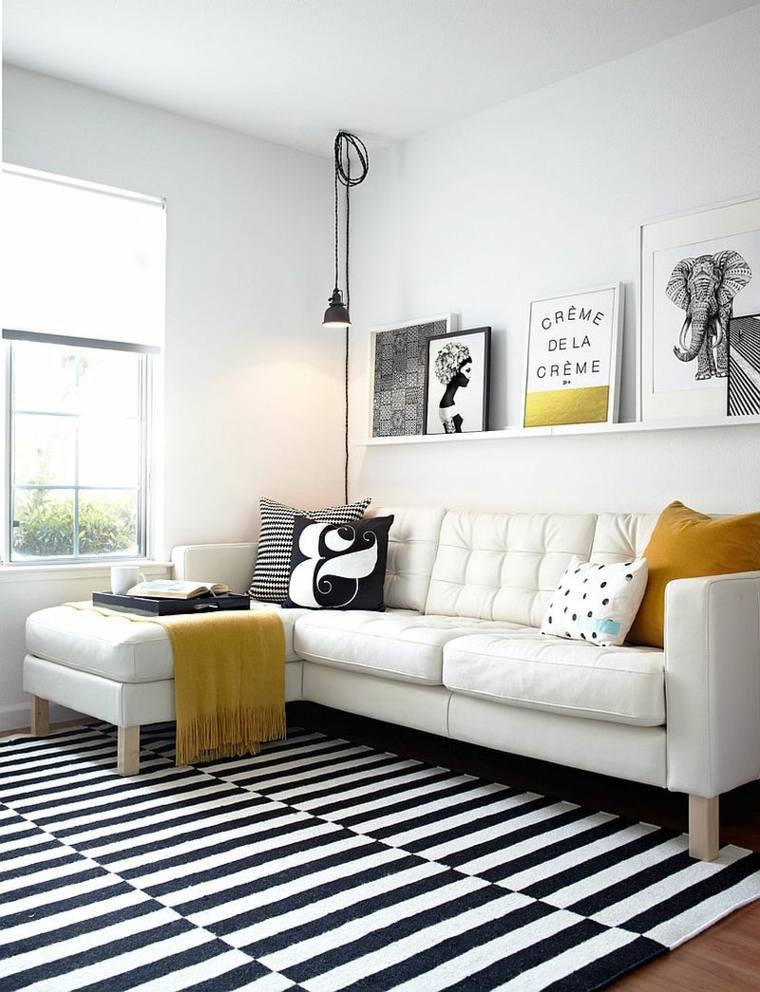 Ide Dco Noir Et Blanc Salon. Perfect Salon Noir Blanc Gris Avec ...
