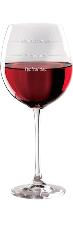 DCI Rough Day wine (glass set of 2)