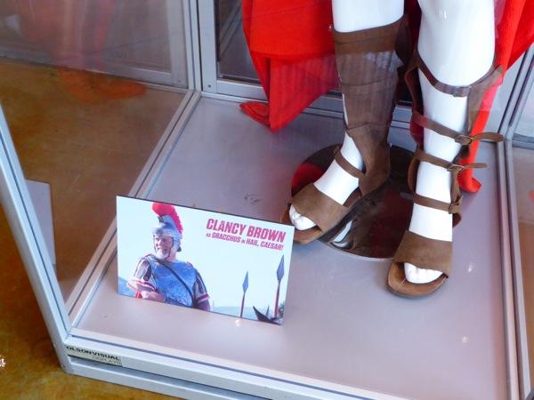 Roman Centurion sandals Hail Caesar