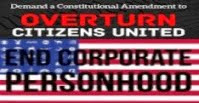 END UNLIMITED POLITICAL CAMPAIGN CONTRIBUTIONS BY CORPORATIONS