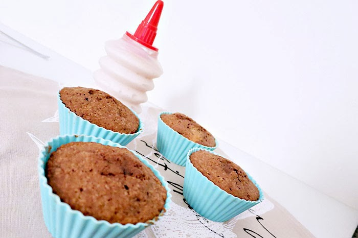 Schokoladen-Erdbeer Cupcakes