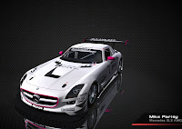 Mercedes SLS AMG Fia GT 2010 rFactor