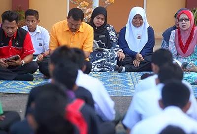 Tahlil Pilu di SMK Buloh Kasap