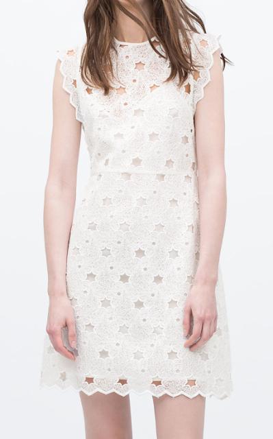 Rebajas SS 2015 fondo de armario vestido blanco gripur