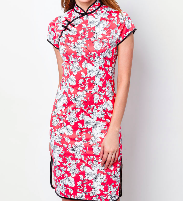 chinese new year cheongsam zalora