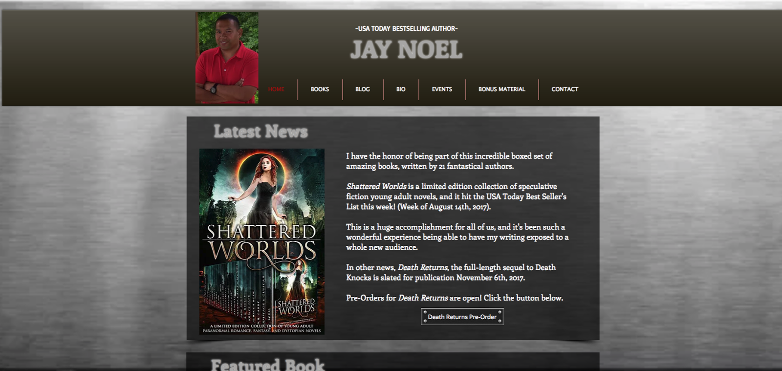 Jay's Official Author Website