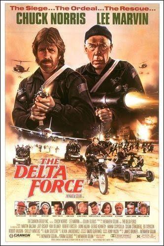 Fuerza Delta -1986- Chuck Norris y Lee Marvin