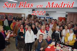 SAN BLAS EN MADRID 2020