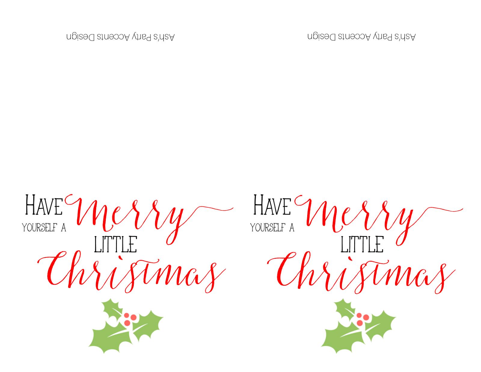 The Ashley Maria Blog: FREE Download Christmas Card