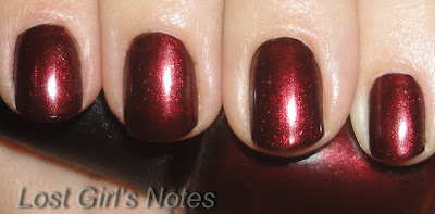 OPI german-icure swatches and review