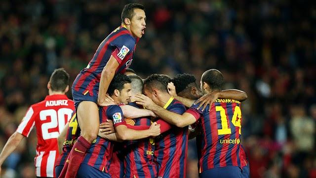 El Barça sufrió y remontó al Athletic