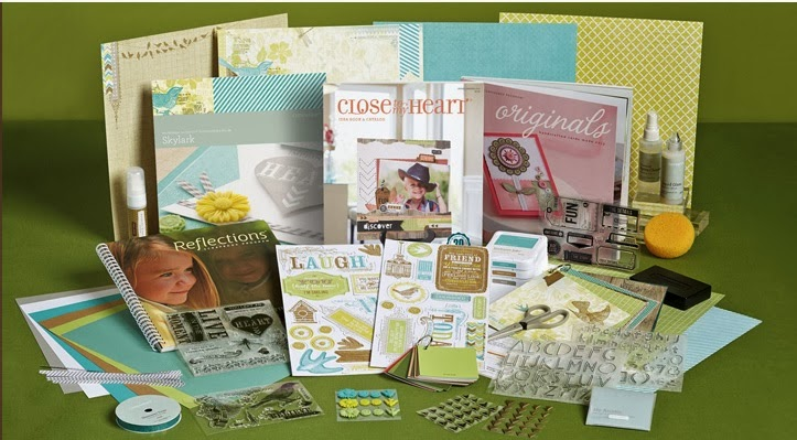 Spring 2014 Close to My Heart- New Consultant Kit $99