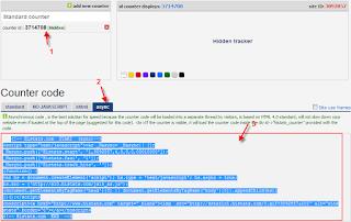 cara mendapatkan kode histats untuk blog