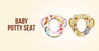 Melatih Anak Buang Air Besar Lebih Mudah dengan Baby Potty Seat
