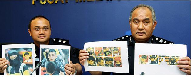 gambar 15 orang dikehendaki polis