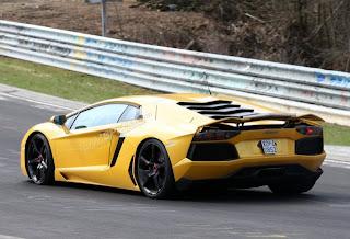 Lamborghini Aventador Nurburgring