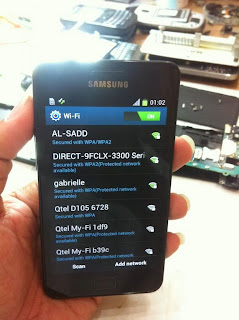 Mengatasi Wifi Samsung Galaxy S2 I9100  tidak bekerja
