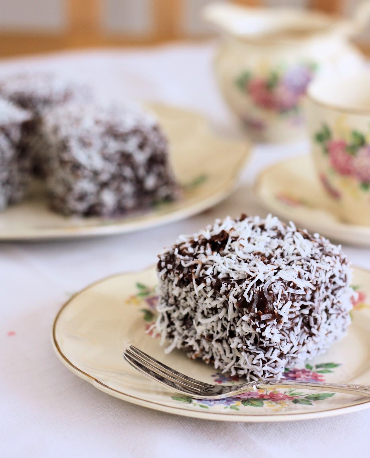 Lamingtons - A Spoonful of Sugar